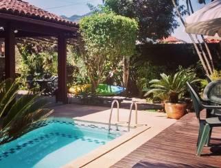 Area externa e piscina